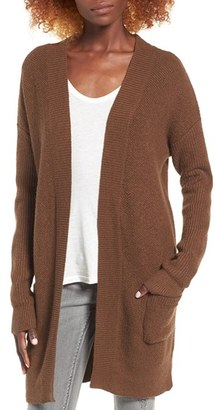Women's Bp. Tuck Stitch Cardigan $55 thestylecure.com