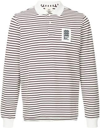 Kent & Curwen striped logo polo shirt