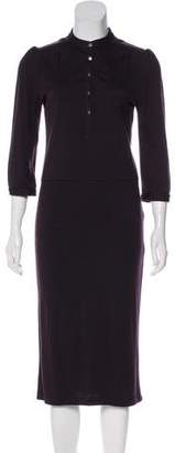 Diane von Furstenberg Wool Midi Dress