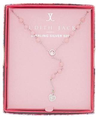 Judith Jack Sterling Silver Inspire Me Boxed Heart Pendant Y-Necklace