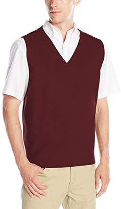 Classroom Uniforms Classroom Men's Adult Unisex V-Neck Sweater Vest