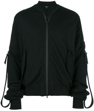 Ann Demeulemeester Blanche buckled sleeves jacket