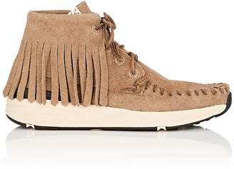 Visvim Men's Yucca Moc Shaman Suede Moccasin Sneakers