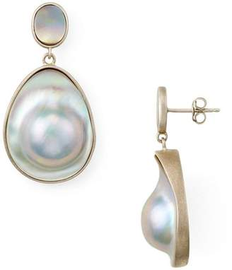 Chan Luu Freshwater Pearl Drop Earrings