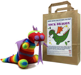 Dragon Optical Sock Creatures Sock Craft Kit