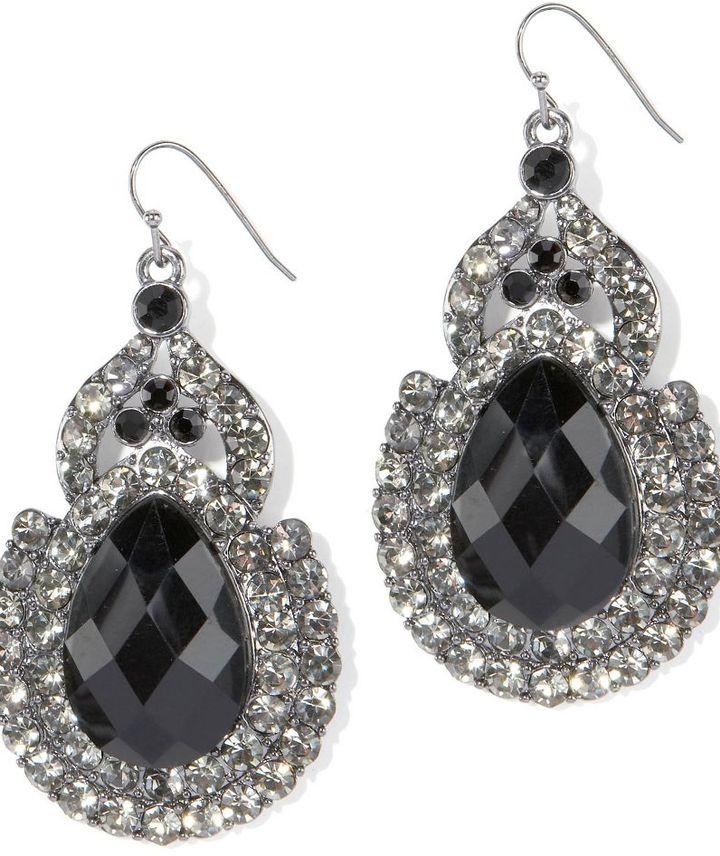 Lydell nyc large teardrop earrings