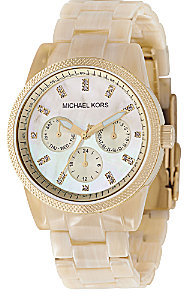 Michael Kors Horn-Bracelet Watch