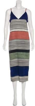 Mara Hoffman Striped Midi Dress