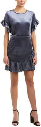 DREW Samantha Dru Velvet Sheath Dress