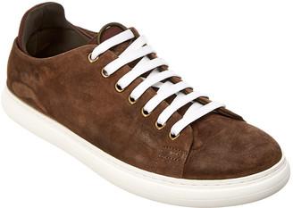 Donald J Pliner Pierce Suede Sneaker