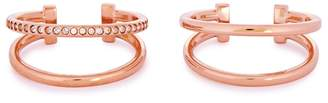 Vita Fede Valentina Rose Gold-plated Ear Cuffs - Set Of 2