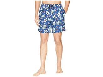 Vineyard Vines Crab Floral Chappy Swim Trunks Men's Swimwear