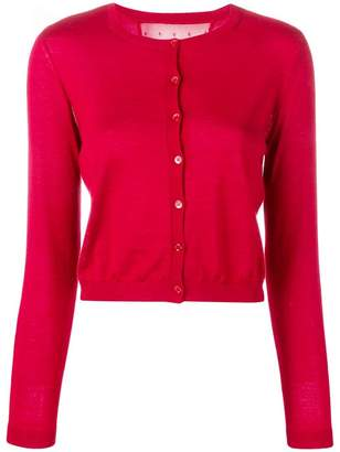 RED Valentino round neck cardigan