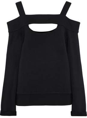 Bailey 44 Cold-Shoulder Cutout Stretch-Modal Jersey Top