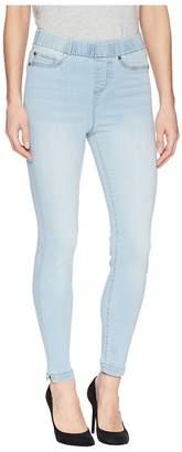 Liverpool Chloe Notched Crop in Premium Super Stretch Denim in Mansfield Super Light Women's Jeans