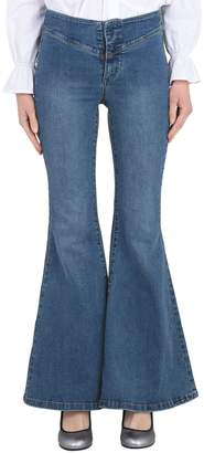 Free People Denim pants - Item 42674701UJ