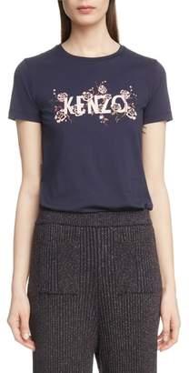 Kenzo Logo Graphic Tee