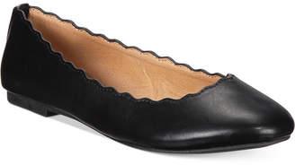 Esprit Odette Scalloped Ballet Flats $39 thestylecure.com