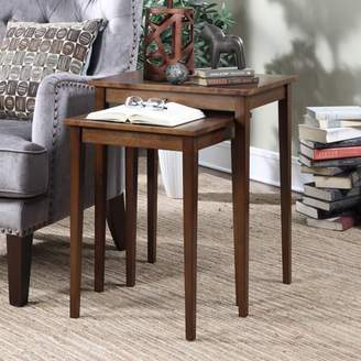 American Heritage Convenience Concepts Nesting End Tables