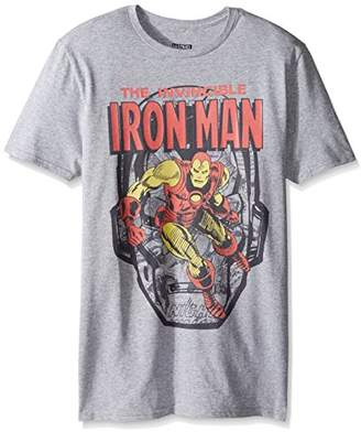 Marvel Men's The Invincible Iron Man Short Sleeve Graphic T-Shirt