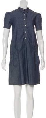 John Galliano Short Sleeve Mini Dress w/ Tags