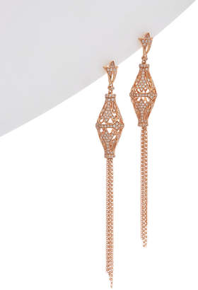 Effy Fine Jewelry 14K Rose Gold 0.85 Ct. Tw. Diamond Drop Earrings