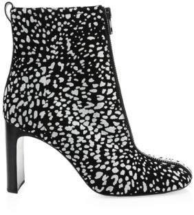 Rag & Bone Ellis Suede Cheetah Boots