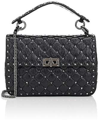 Valentino Women's Rockstud Medium Leather Shoulder Bag