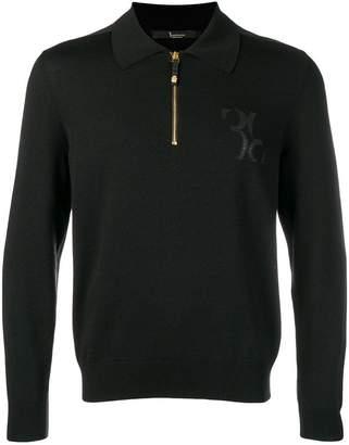 Billionaire magila zip polo shirt