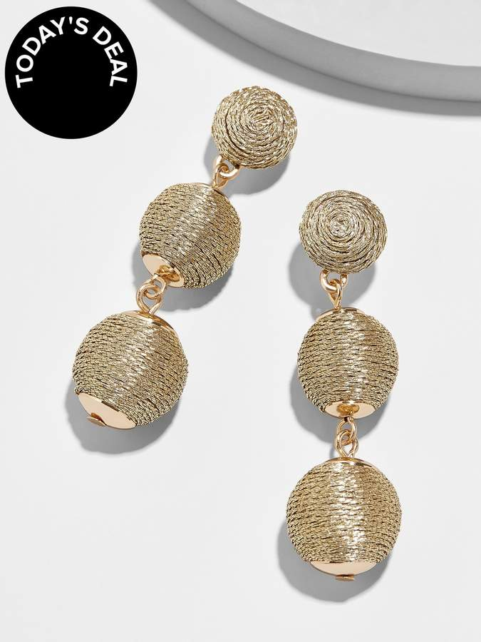 BaubleBar Crystabella Ball Drop Earrings