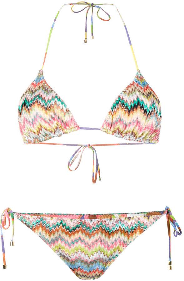 MissoniMissoni Mare zig-zag triangle bikini