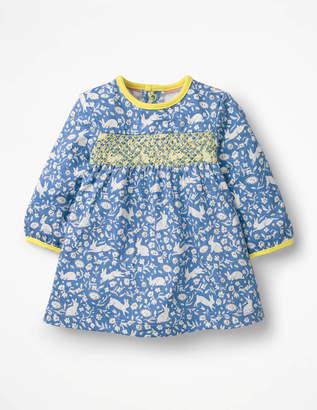Boden Smocked Jersey Dress