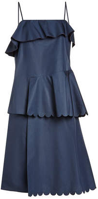 See by Chloe Scalloped Cotton Dress
