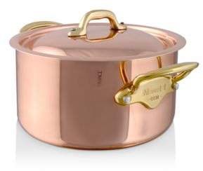 Mauviel M150B 1.9-Quart Copper & Stainless Steel Stew Pan