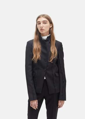 Yang Li Sharp Tailored Blazer Black
