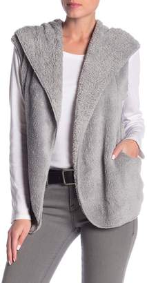 Love, Fire Woobie Faux Fur Sweater Vest