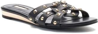 JLO by Jennifer Lopez Ginko Women's Strappy Studded Slide Sandals