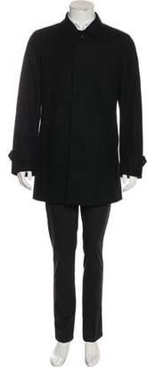Burberry Wool-Blend Car Coat