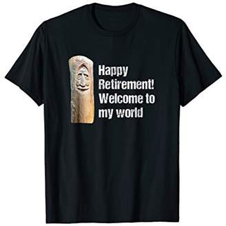 Wood carving T Shirt: Funny Retired Woodcarver Shirt