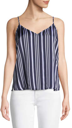 AG Jeans Lisette Striped V-Neck Tank Top