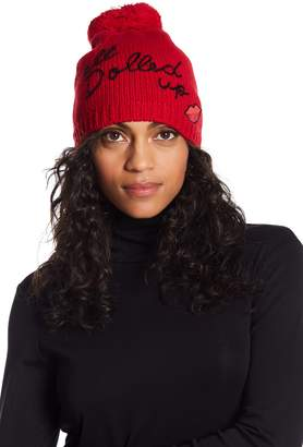 Kate Spade All Dolled Up Graphic Beanie