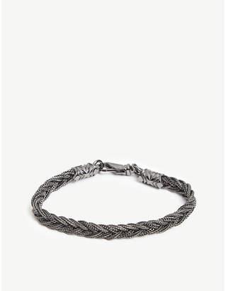 Emanuele Bicocchi Small fishtail braided bracelet