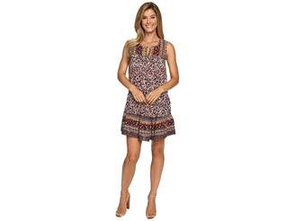 Lucky Brand Scarf Printed Dress Women's Dress