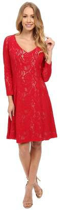 NYDJ Amelia All Over Lace Dress Women's Dress