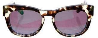 Wildfox Couture Winston Mirrored Sunglasses