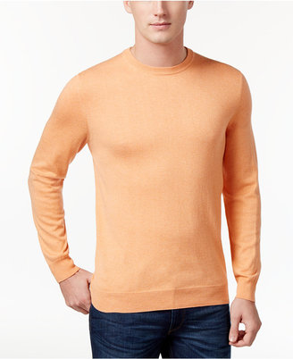 Club Room Men's Classic Fit Jersey Sweater, Only at Macy's $99.50 thestylecure.com
