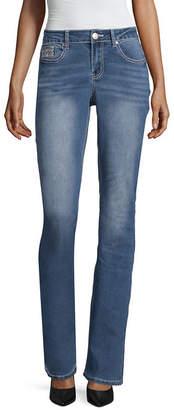 LOVE INDIGO Love Indigo Cross Flap Pocket Jean - Tall