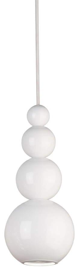 Bubble Pendelleuchte, Weiß