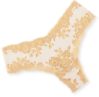 Cosabella Italia Low-Rise Lace Thong