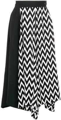 Loewe high waisted midi skirt